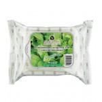 Очищающие салфетки для снятия макияжа Зеленый чай